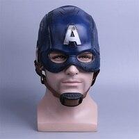 Cosplay Captain America Mask Avengers Infinity War Mask Halloween Helmet Latex Mask Cosplay Costume