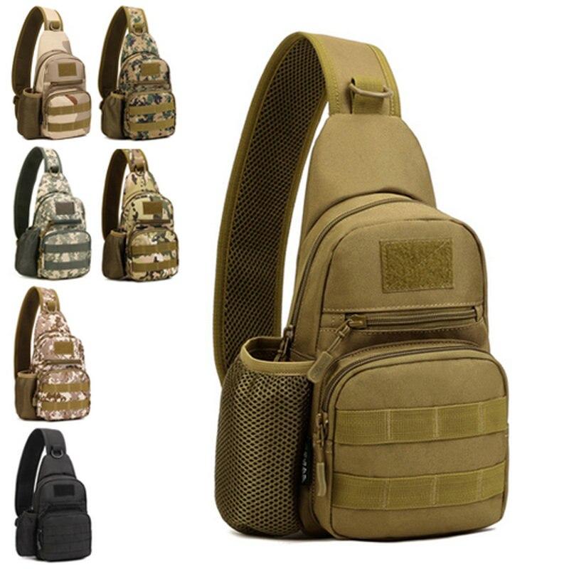New Shoulder Sling Bag Chest Pack Men Messenger Bags Casual Travel Male Small Retro Shoulder Bag