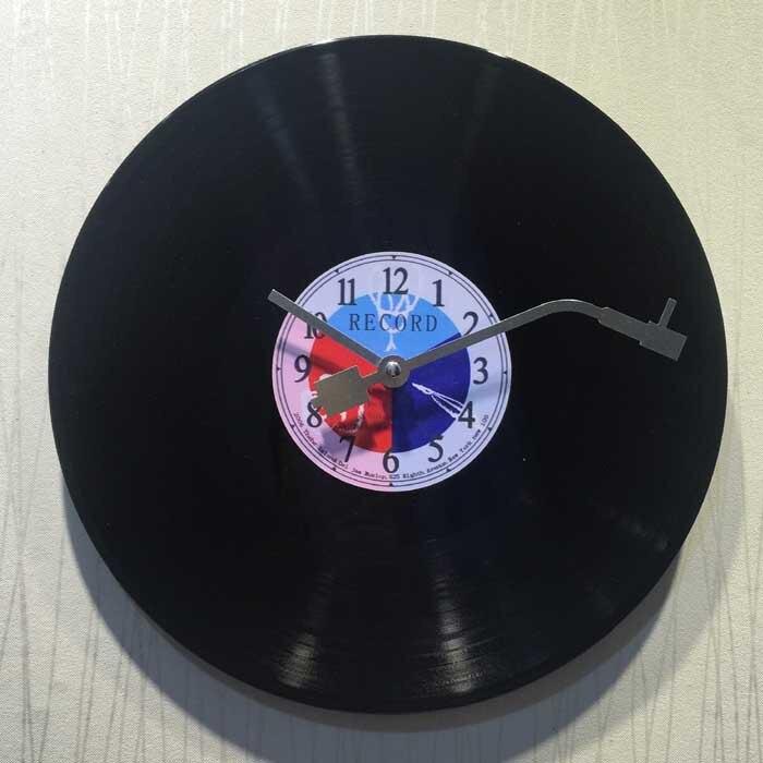 Wall Clock Vinyl Record Creative Hanging Clock Home Decor gift