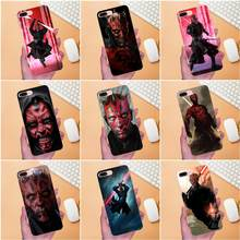 Soft Custom Desain Star Wars Darth Maul untuk Xiaomi Redmi Catatan 2 3 3 S 4 4A 4X5 5A 6 6A PRO PLUS(China)