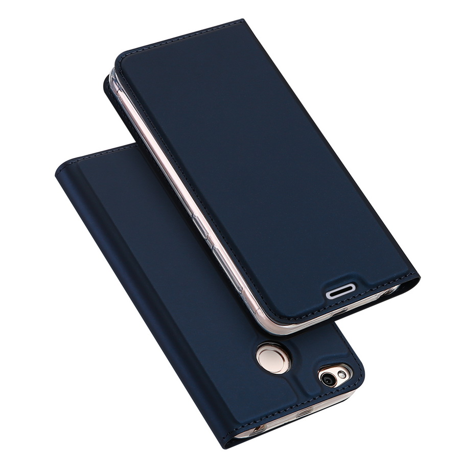 DUX DUCIS For Xiaomi Redmi 4x Case Magnetic PU Leather Flip Stand Wallet Cover For Xiaomi Redmi 4x <font><b>Card</b></font> <font><b>Slot</b></font> Mobile <font><b>Phone</b></font> Cases