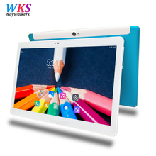 Free shipping 10.1 inch tablet pc Android 7.0 octa core RAM 4GB ROM 64GB 1280*800 IPS WIFI GPS MT6592 Smart tablets pcs 10 10.1