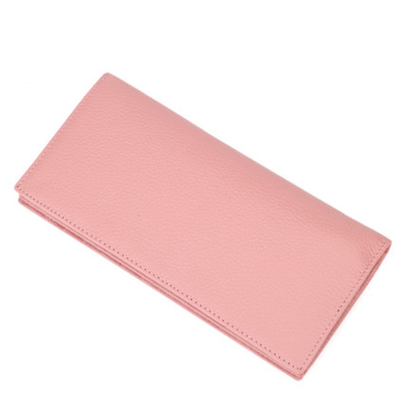Long Wallet Women Real Cowhide Genuine Leather Wallets Purse Clutch Handbag Coin Credit Cards Holder Carteras Mujer WT0106 women short wallet vintage coin purse clutch clip lovely animal prints soft leather small purse carteras mujer sacoche homme