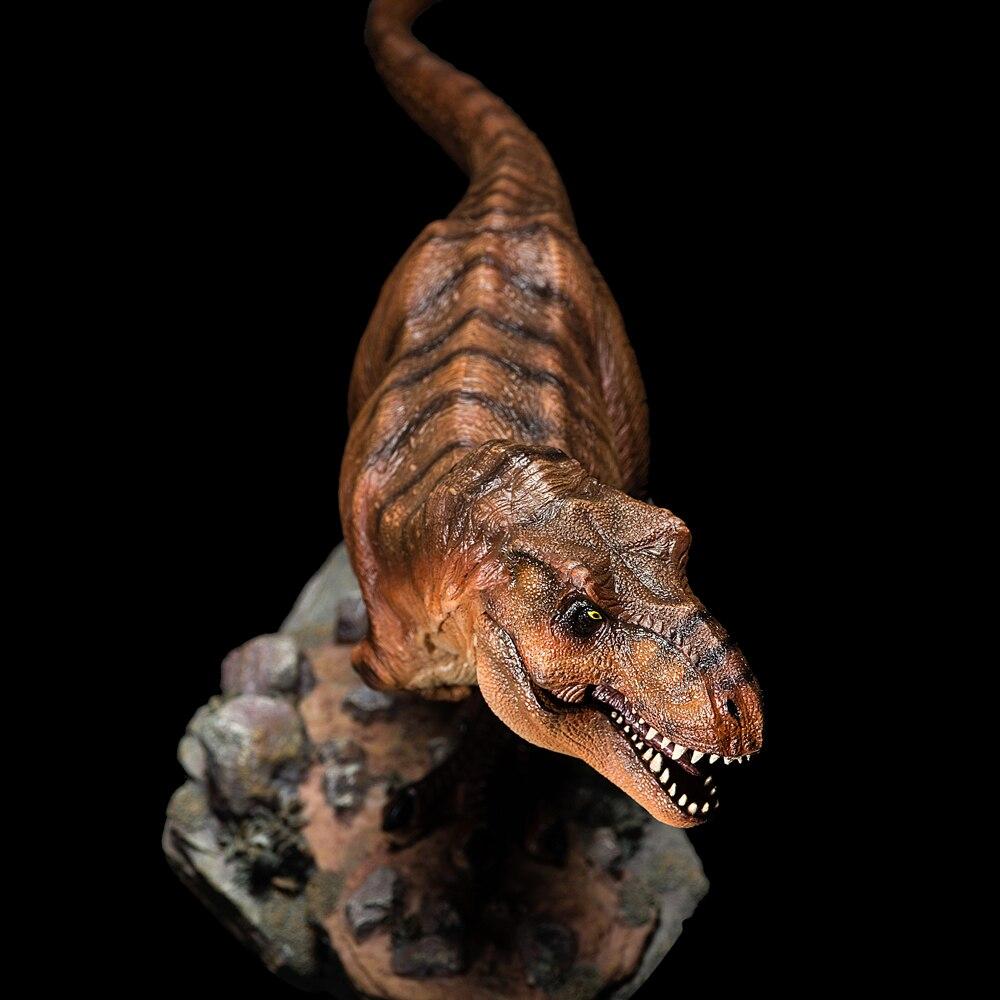 Modelo de dinosaurio del Mundo Jurásico de 2018 juguetes de colección de adultos biológicos antiguos Tyrannosaurus Rex-in Figuras de juguete y acción from Juguetes y pasatiempos    3