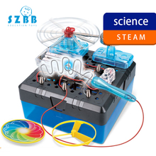 SZ STEAM DIY STEM Toys for Children Physical Scientific Experiment Creativity Learning Educational Toy Electric Bell Gift