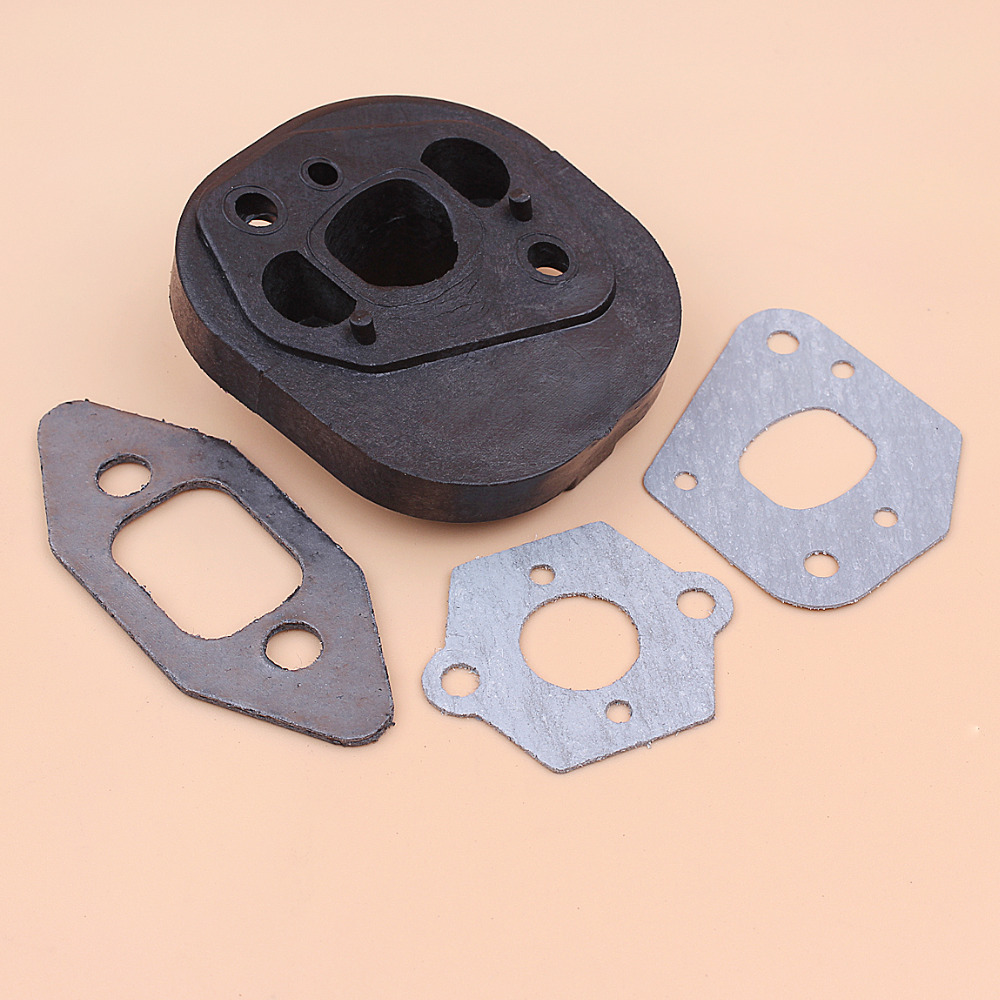 Купить с кэшбэком Intake Manifold Carburetor Gasket Kit for Partner Chainsaw 350 351 370 371 420 McCulloch MacCat 335 435 440 Chain Saw Spares