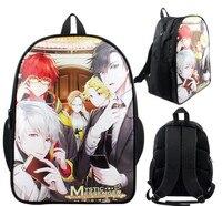 Mystic Messenger Anime Cartoon Shoulder Bag Students School Bag 1205 Kids Backpack Travel Bag For Teenages