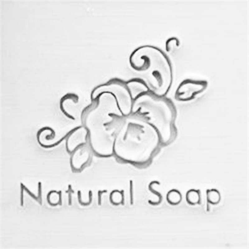 plant flowers soap stamp making service customized stamps in Stamps from Home Garden
