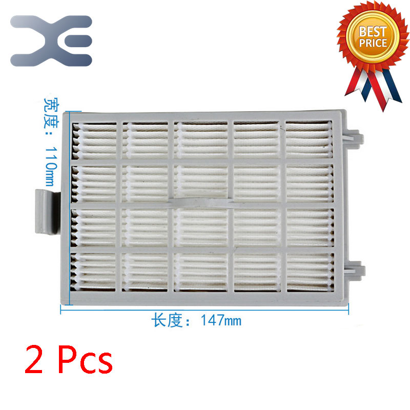 2Pcs Lot High Quality Adapt to For Midea VC35J-10AC / VC35J-10AD Vacuum Cleaner Accessories Filter HEPA Filter 5pcs lot high quality compatible with for midea vacuum cleaner accessories filter hepa vc34j 09c vc12c1 vv