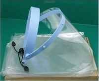 Dental Adjustable Full Face Shield With 10 Pieces CLEAR Detachable Visors
