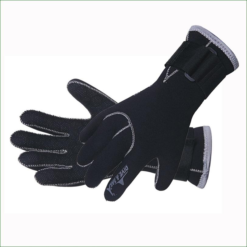 DG02 Professional 3MM Neoprénové potápěčské rukavice Koupání Udržujte teplé rukavice Rukavice pro lov z plavčíku pro plavání a potápění Spearfishing