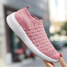 Rommedal Summer women sock shoes big size 35-41 breathable ultralight casual walk drive jogging comfortable sneakers 2019