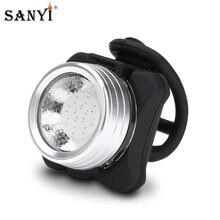 Lampe torche de vélo Rechargeable USB, Modes d'éclairage multiples, feu arrière, feux de cyclisme d'avertissement de sécurité