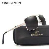 KINGSEVEN Mens Classic Polarized Sunglasses Men Women Fashion Brand Designer Vintage Square Driving Sun Glasses For