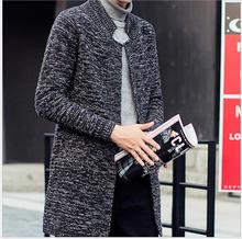 NEW Autumn Winter Loose Long Cardigans Sweaters Fashion casual Hooded Knit Sweatercoat Jersey plus size clothing