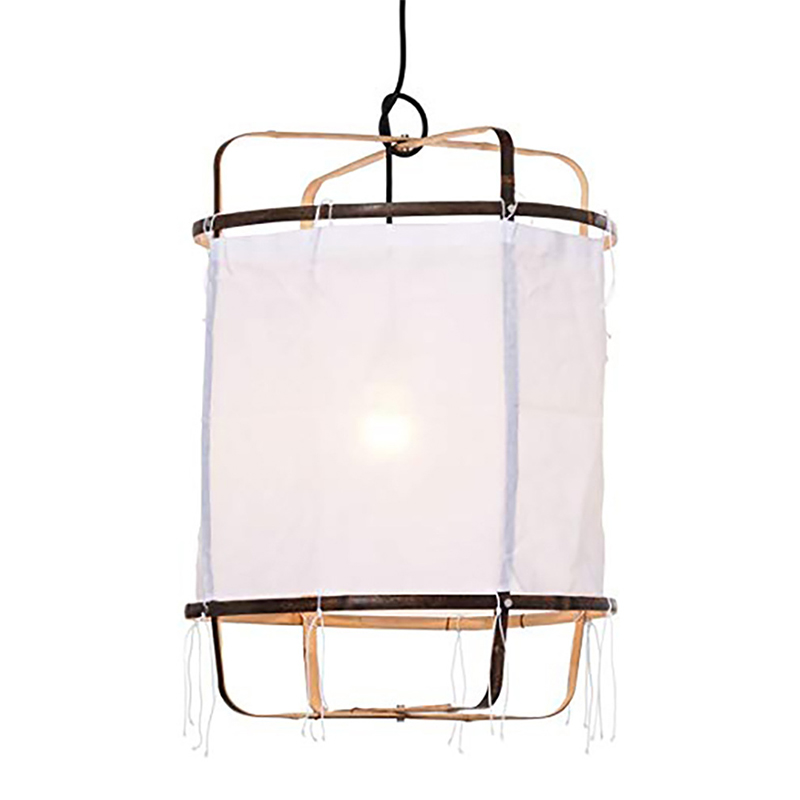 Ay illuminate Linen black white bamboo pendant lamp for Dinning Living room bedroom hanging lamp 85-265V kitchen dispensador de cereal peru