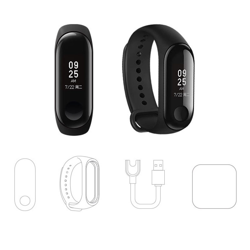 Pre-Sale Original Xiaomi Mi Band 3 Smart Band Watch Miband 3 Smartband OLED Display Touchpad Heart Rate Monitor Bluetooth Wristbands Bracelet (3)