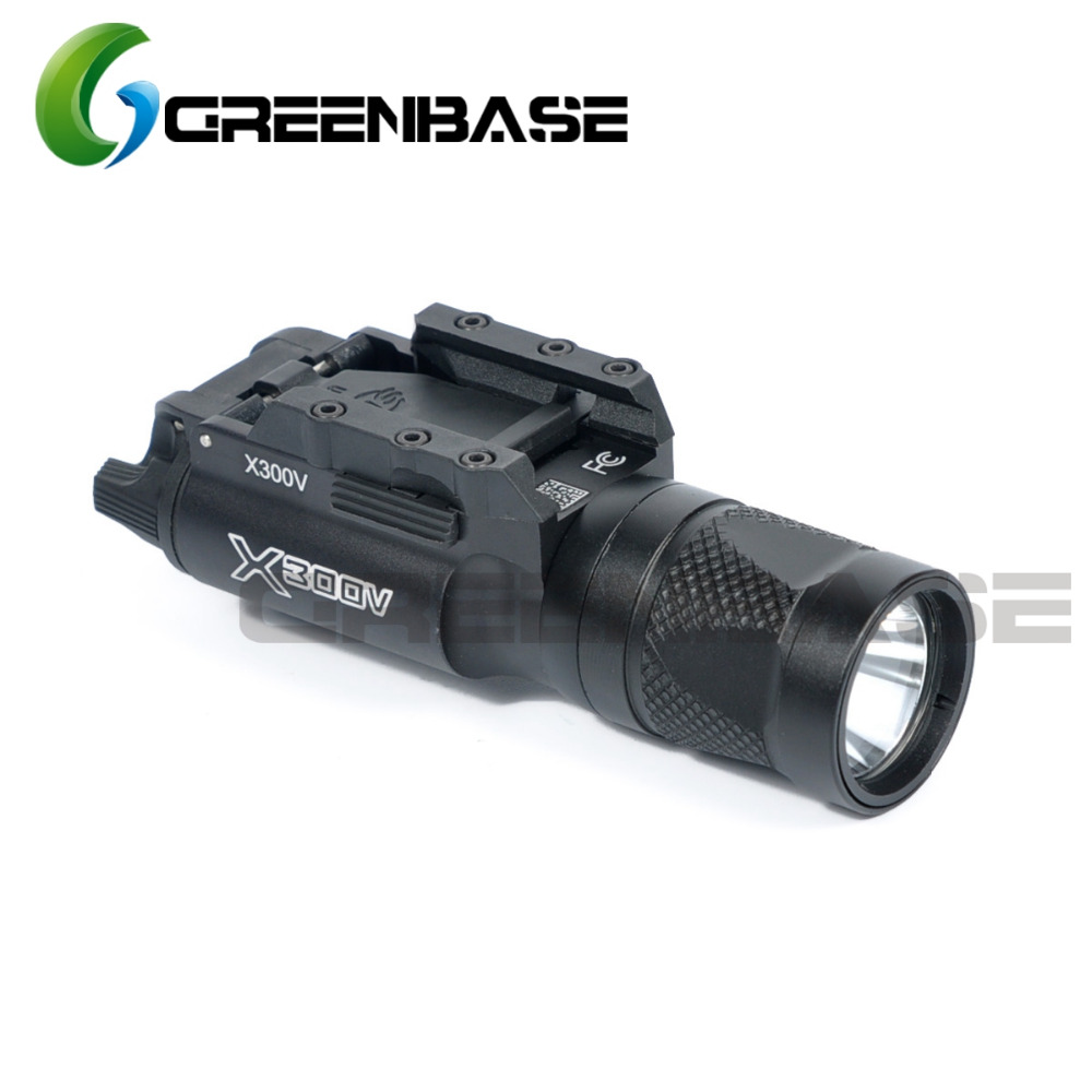 цены на Greenbase SF Tactical LED X300V-IR Weaponlight X300 Series Flashlight White and IR Output Fit 20mm Picatinny Rail 2 Colors