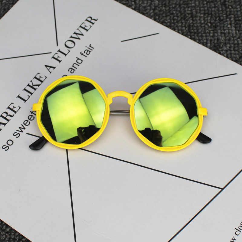 Zomer Uitloper Beach Peuter baby kids Accessoires Vintage Zonnebril Kind Meisje Jongen 4-12years Anti-Uv zonwering UV400 Bril