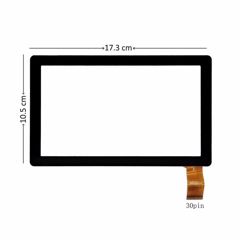 7 Inch Touch Screen Digitizer Glass For RoverPad 3WT74L / Wecool Q88