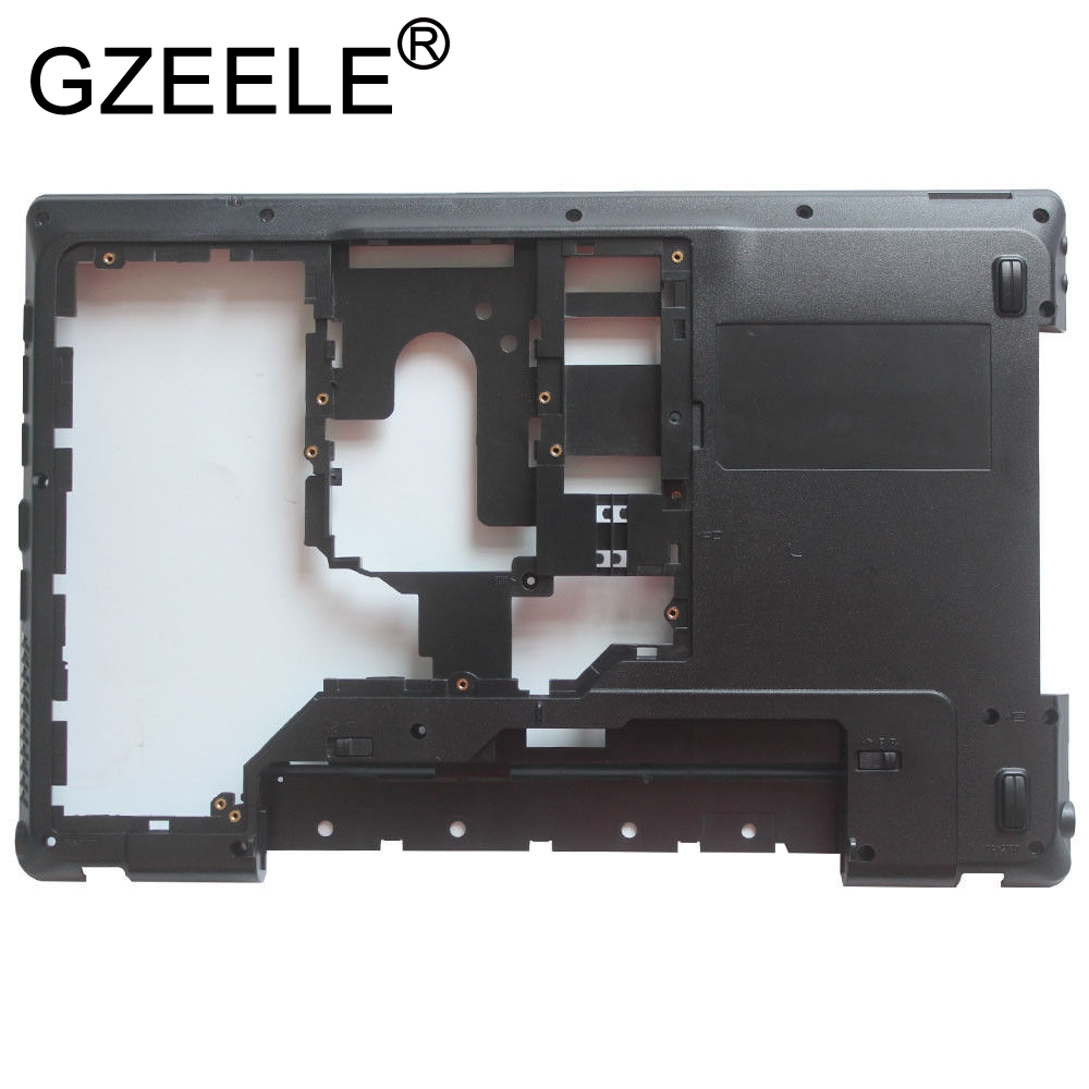 GZEELE New cover For <font><b>Lenovo</b></font> IdeaPad <font><b>G560</b></font> G565 Base Bottom Cover Lower <font><b>Case</b></font> With HDMI AP0BP000800 image