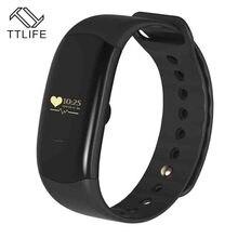 Лидер продаж TTLIFE бренд H2 смарт-браслеты спорт браслет монитор сердечного ритма шагомер сна калории, фитнес-трекер SmartBand