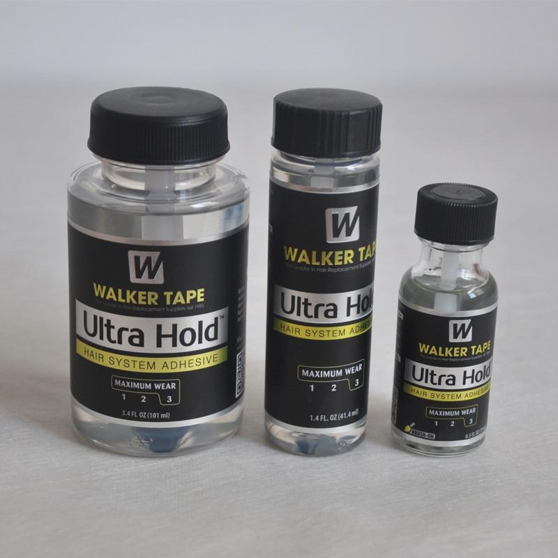 15 ml/41.4 ml/101 ml ultra segure líquido bond cabelo sistema adesivo escova-na profissão peruca de renda silicone cola para peruca/peruca/fechamento