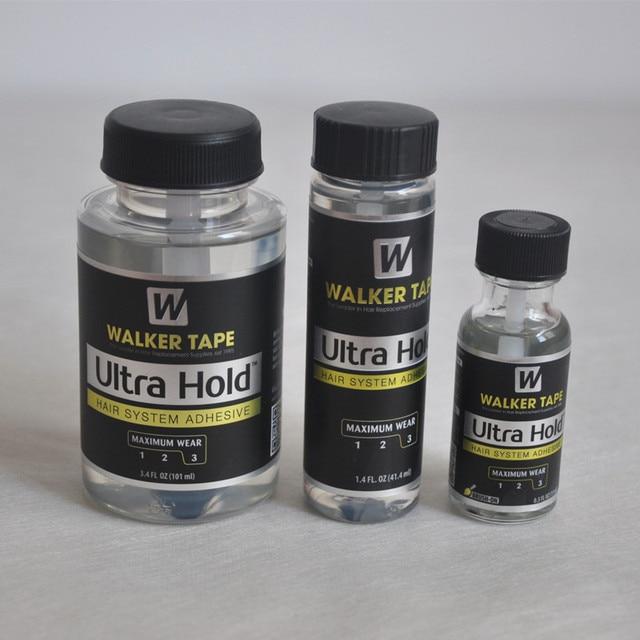 Adhésif en Silicone pour perruque, colle en Silicone, pour perruque, toupet/Closure, système capillaire Ultra tenue, 15ml, 41.4ml et 101ml