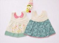 Cute Flowers Baby Bibs Waterproof Newborn Bandanas Feeding Baby Cloths Girls Saliva Towel Print Apron AS710