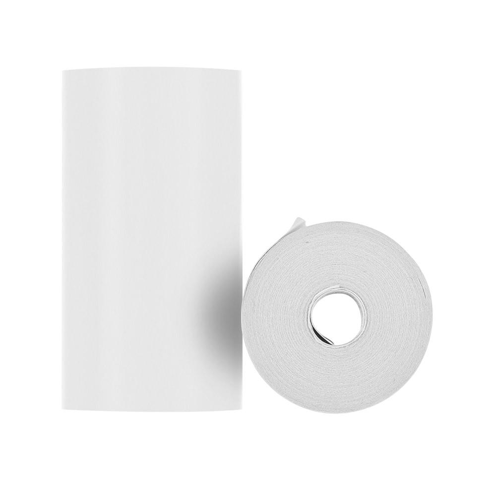 Термальный чековый бумажный рулон 57*30 мм(2,17* 1.18in) печать билета для кассового POS чекового принтера, 6 рулонов