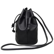 Fashion Women Handbag Leather Pure color Shoulder Bag Messenger Bag Purse Satchel Cross Body Bags for Women 2018 bolsa feminina