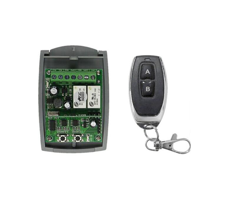 DC 12V  24V  36V 10A relay 2CH RF Wireless Remote Control switch  learning code Universal  lighting  315433mhz