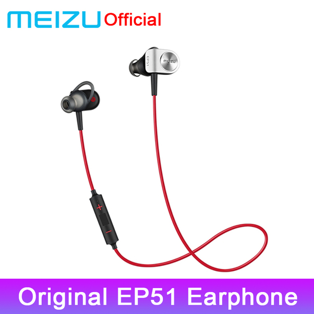 Original Meizu EP51 Bluetooth Earphone Sport Headset for Wireless Earphone Bluetooth Stereo Headset In-Ear APT-X With microphone