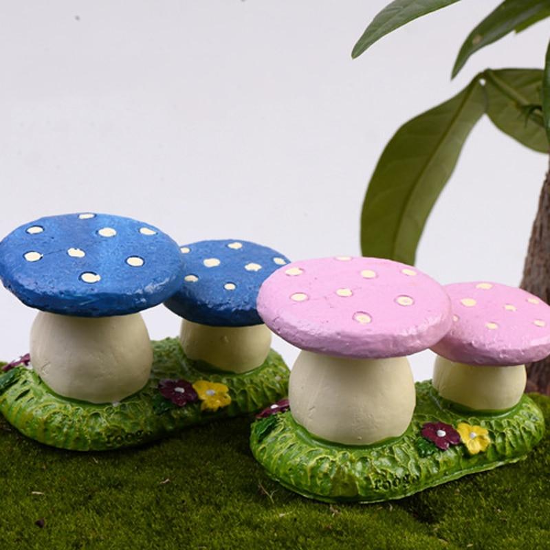 2pcs Mushroom Stool Sculpture Mini Fairy Garden Ho. & Online Get Cheap Mushroom Garden Stool -Aliexpress.com | Alibaba Group islam-shia.org