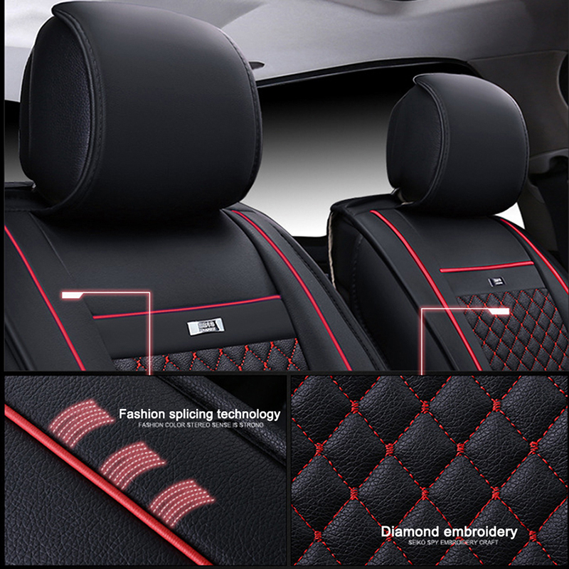 Enjoyable Us 73 23 44 Off Flash Mat Universal Leather Car Seat Covers For Mercury Grand Marquis Mariner Milan Montego Car Styling Car Accessories In Uwap Interior Chair Design Uwaporg