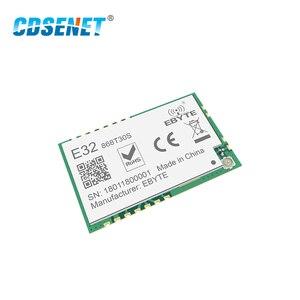 Image 4 - SX1278 868MHz 1W SMD אלחוטי משדר CDSENET E32 868T30S 868 mhz SMD חותמת חור SX1276 ארוך טווח משדר מקלט