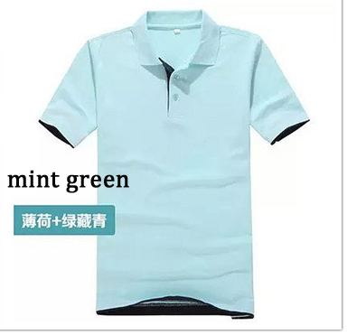 Brand Clothing Polo Homme Solid Wholesale Polo Shirt