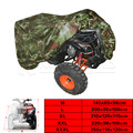 Camouflage Universal 190T Motorcycle Waterproof Cover Quad Bikes ATV For Polaris Honda Yamaha Suzuki Size M L XL 2XL 3XL D15