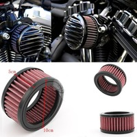 Motorcycle Replacement Filter Element For Harley sportster XL883/1200 Air Filter For Rough Crafts Air Cleaner