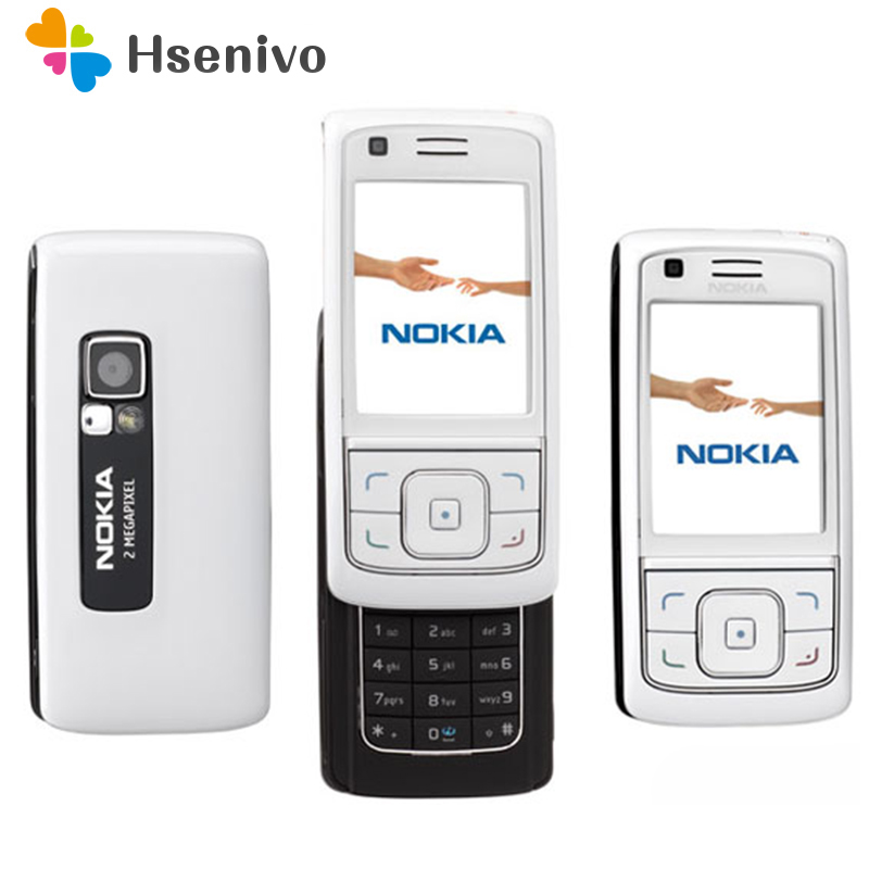 6288 100% Original Unlocked Nokia 6288 Slide phone 2.2 ' inch GSM 3G mobile phone with Bluetooth FM Radio free shipping image