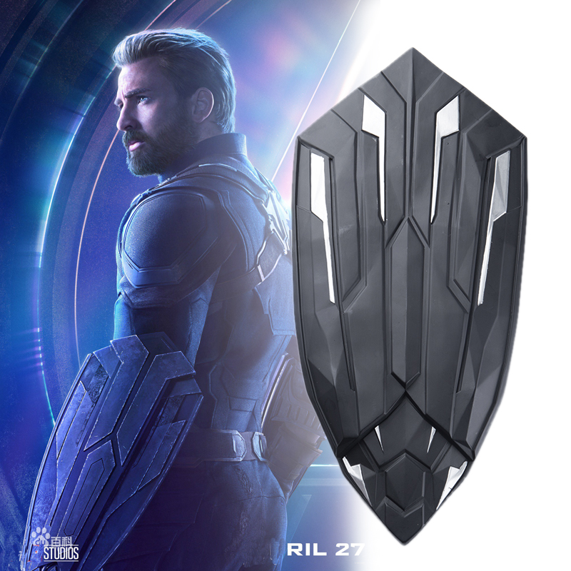 Captain America Cosplay Avengers Infinity War Steve Rogers Men Porps Shield New