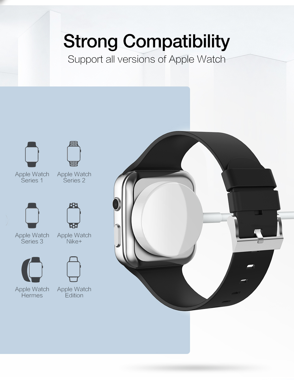 RAXFLY Wireless Charger For Apple Watch 1 2 3 4 38/42/44mm Magnetic Charge Wireless For Apple i Watch Magnetic Charging Stand 13