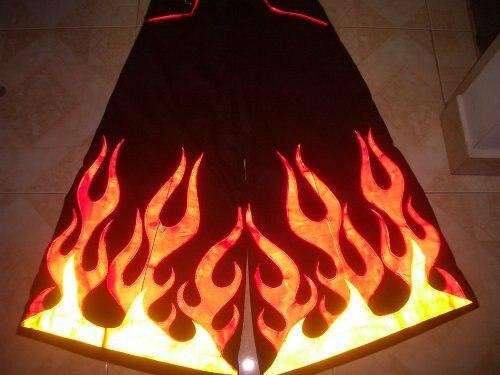 Big Fire Melbourne Shuffle Pants Fluoreszierend Raver Ore DJ PHAT Pants Hardstyle Tanz Hose Reflective Trousers NEW