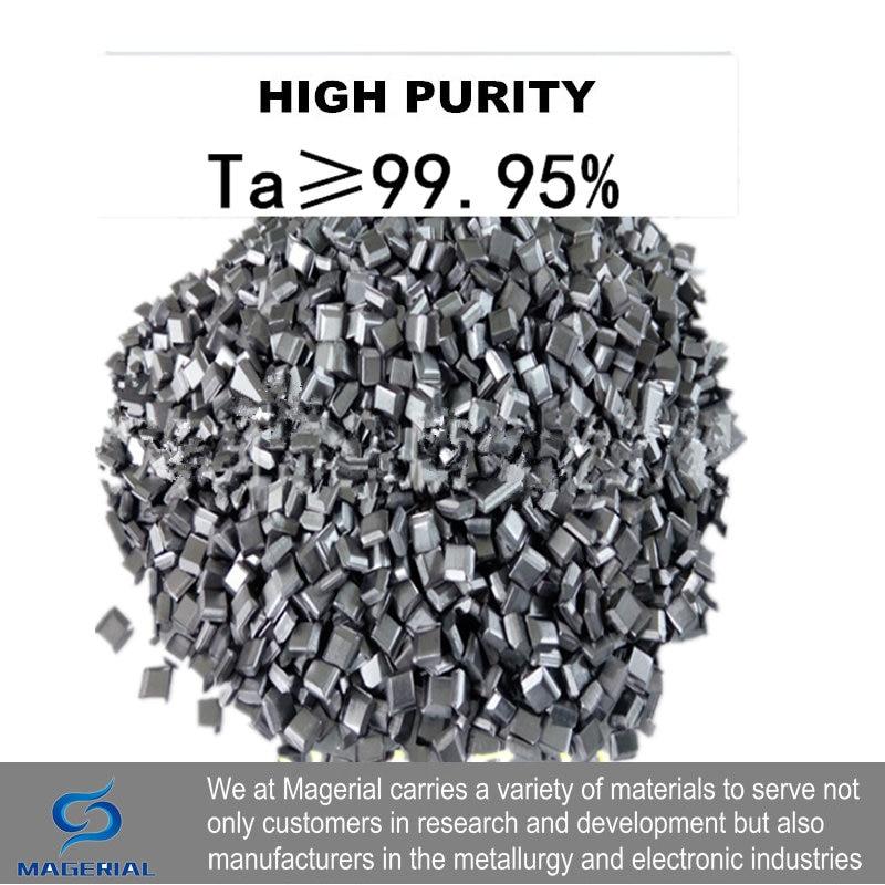 High Purity Tantalum 3N5 Ta Plate 99.99% 4 Research And Development Element Metal Simple Substance CAS#: 7440-25-7 High Temp.