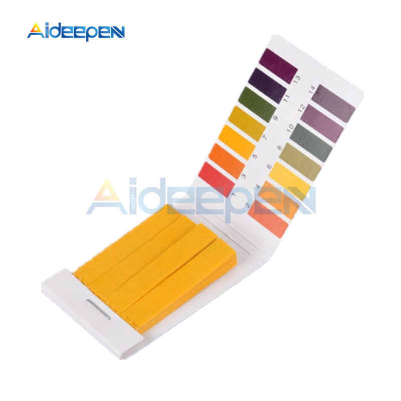 80 Strips Ph Teststrip Ph Meter Indicator Papier Controller 1-14 Lakmoes Tester Urine Gezondheidszorg Papier water Soilsting Kit