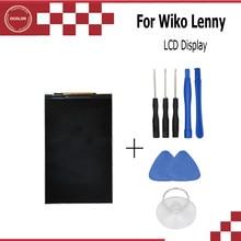 Ocolor para wiko lenny display lcd perfeito acessório digital de boa qualidade + ferramentas