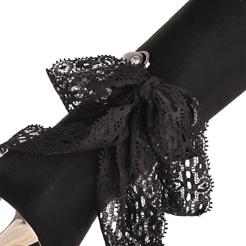 Bout mollet Mi 34 De 2019 Bottes 42 Hiver Noir Talons Flock Glissière Femme Pointu Hauts Taille Chaussures Femmes Fermeture À Esveva Base Automne nx8PA0wgqg