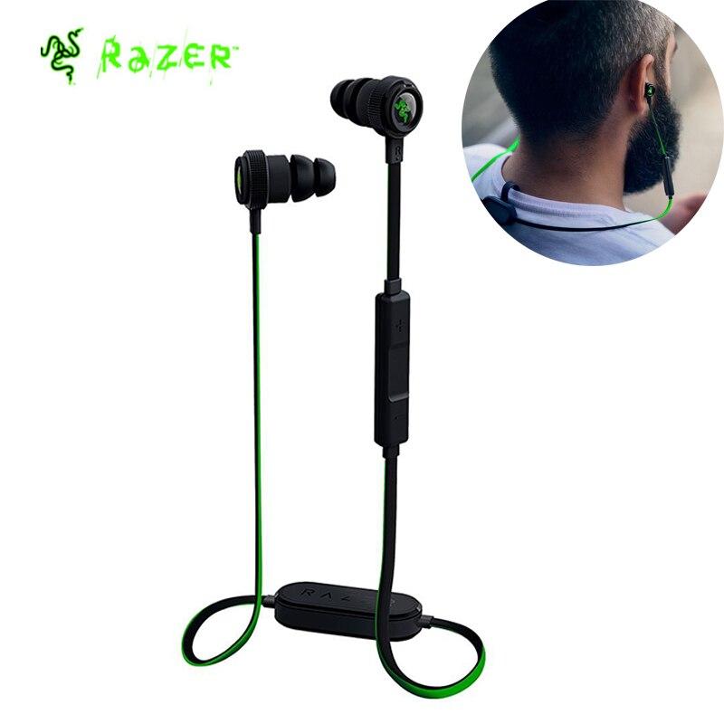 цена на Razer Hammerhead Bluetooth Wireless Earbuds Music Earphone Sport Earphone With In-line Mic & Controls- Up to 8 Hours of Battery