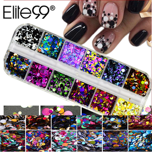 Elite99 Nail Round Mixed Sequi