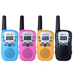يصل إلى 2 كجم تحدث المدى 2 قطعة/زوج الاطفال لعبة أجهزة اتصال لاسلكية التفاعلية مضحك راديو التواصل اللعب للأولاد